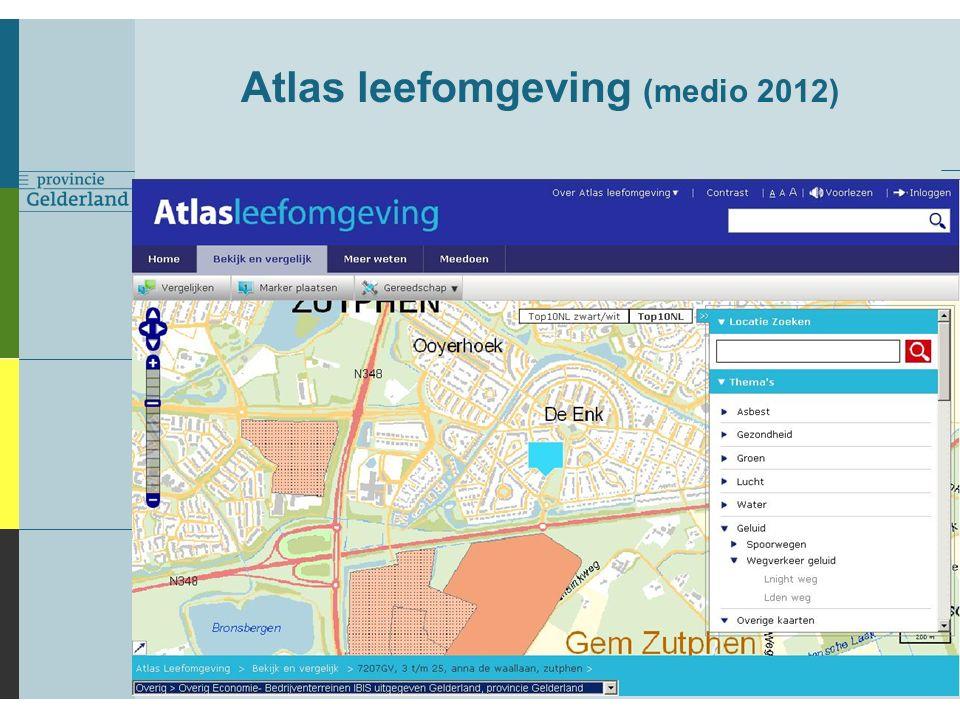 Atlas leefomgeving (medio 2012)