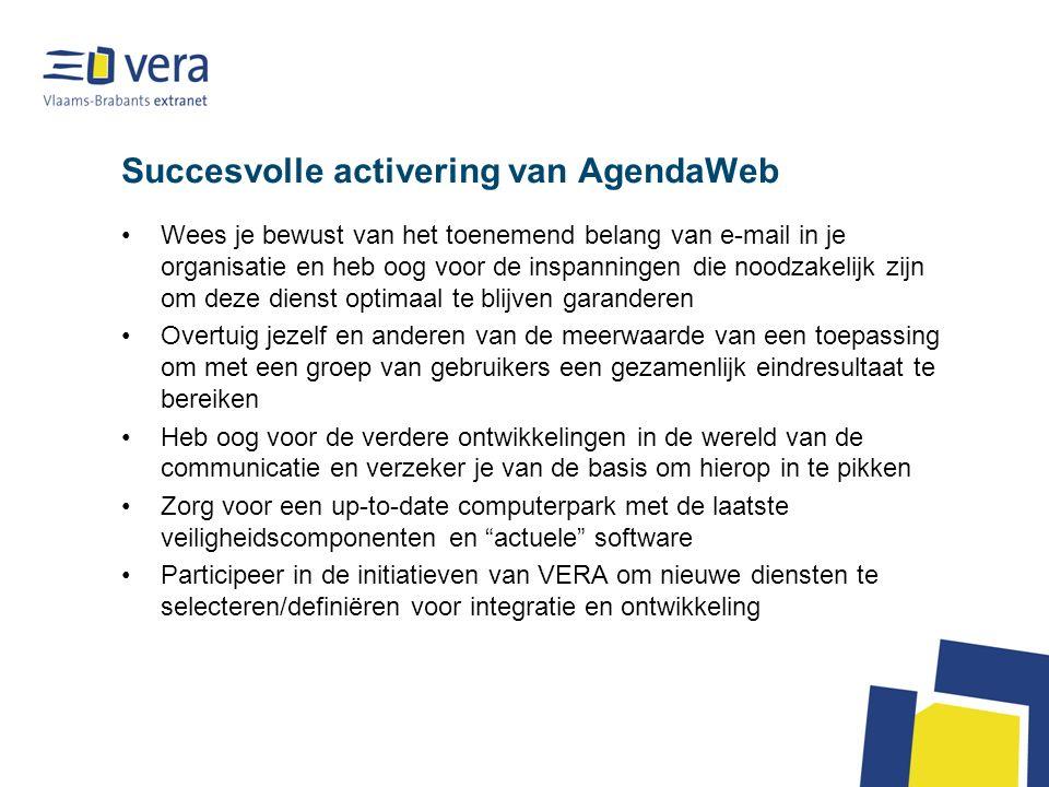 Mobiel zijn met AgendaWeb - mogelijkheden Mobiel AgendaWeb met de laptop: -Een mobiele datakaart van bijvoorbeeld Proximus kan dienst doen om eender waar http://www.agendaweb.be te kunnen raadplegen.