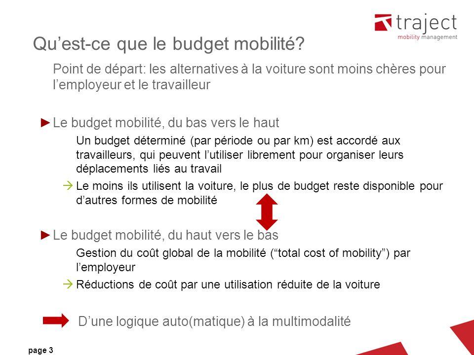 page 3 Quest-ce que le budget mobilité.