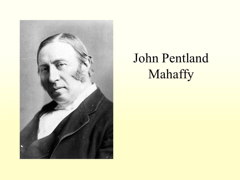 John Pentland Mahaffy