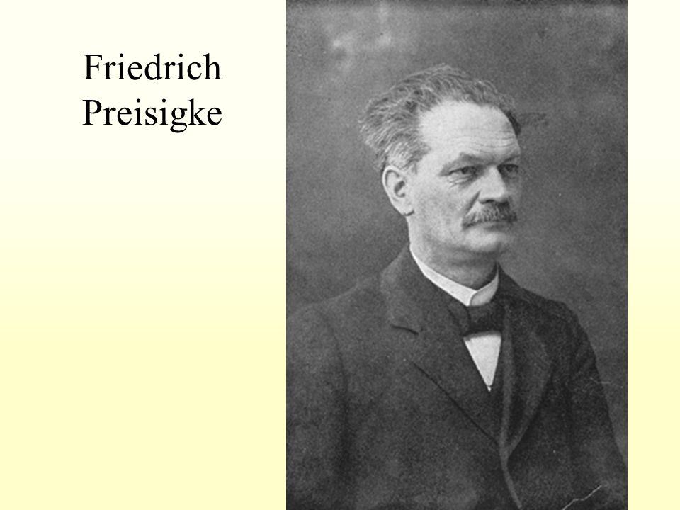Friedrich Preisigke