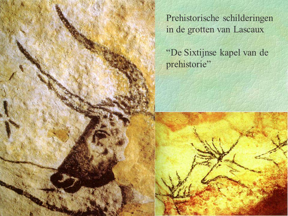 """Prehistorische schilderingen in de grotten van Lascaux """"De Sixtijnse kapel van de prehistorie"""""""