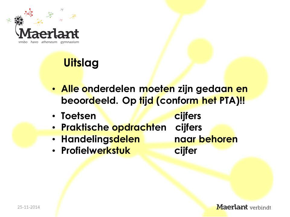 Inschrijven opleidingen via de site van studielink: www.studielink.nl www.studielink.nl DigiD-code vereist soms via de site van de onderwijsinstelling Aanvraag studiefinanciering via een link op de site hierboven 25-11-2014