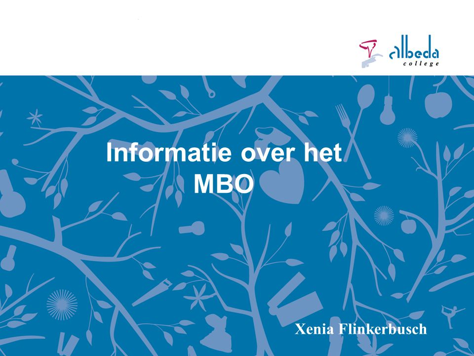 Informatie over het MBO Xenia Flinkerbusch