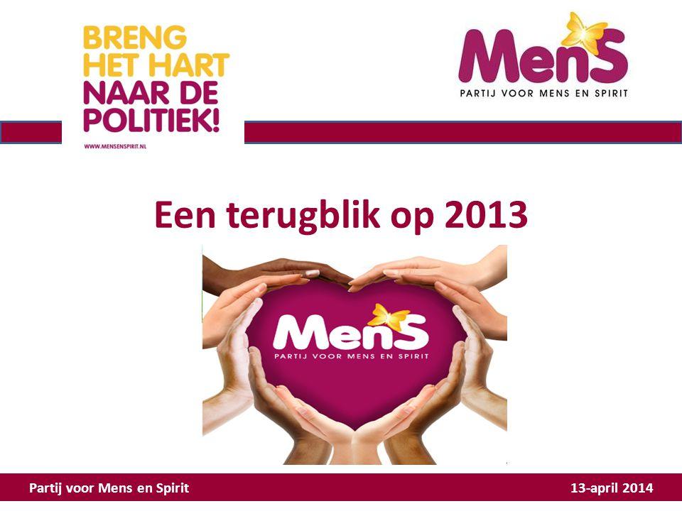Activiteiten 2013 Hoe hebben we MenS georganiseerd.