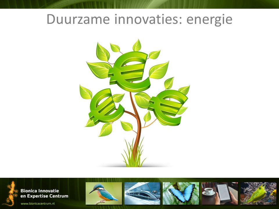 Duurzame innovaties: energie