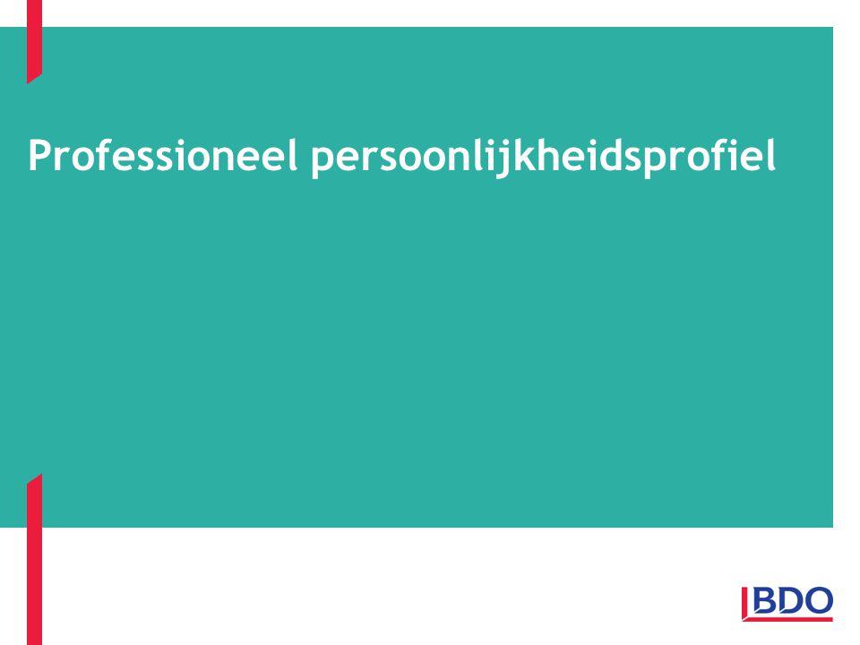 VVOS Vlaams Brabant - Professionele Persoonlijkheid Page 12 Dimensies van persoonlijkheid