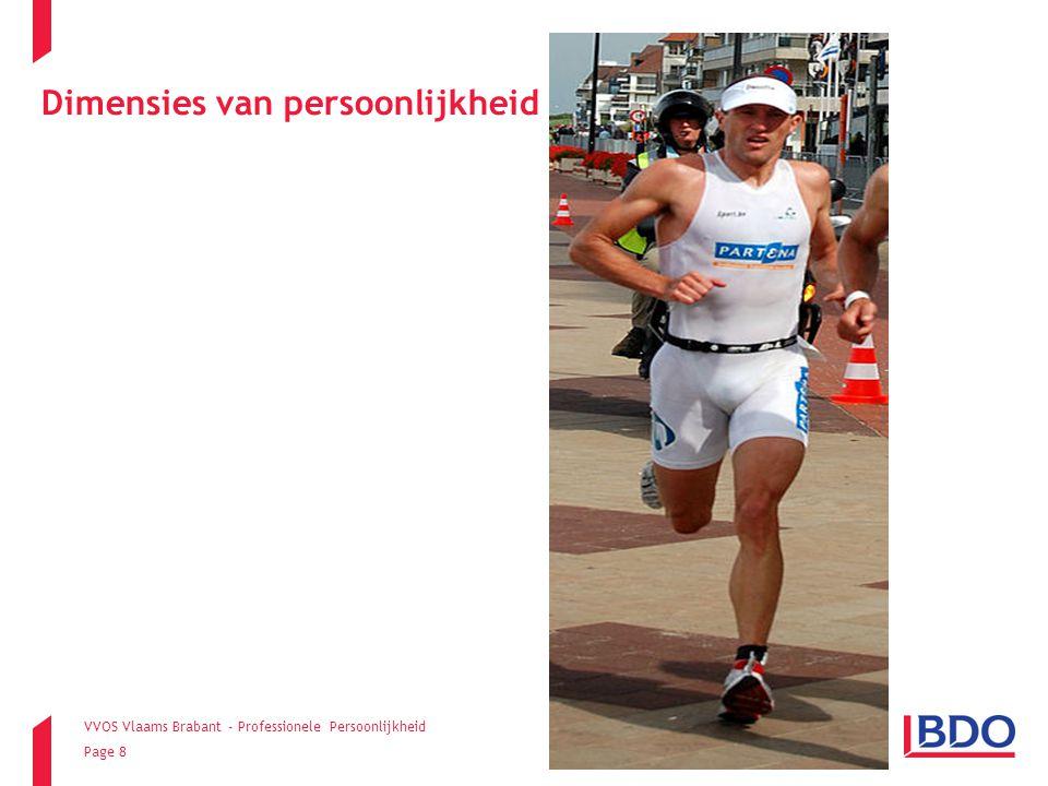 VVOS Vlaams Brabant - Professionele Persoonlijkheid Page 8 Dimensies van persoonlijkheid