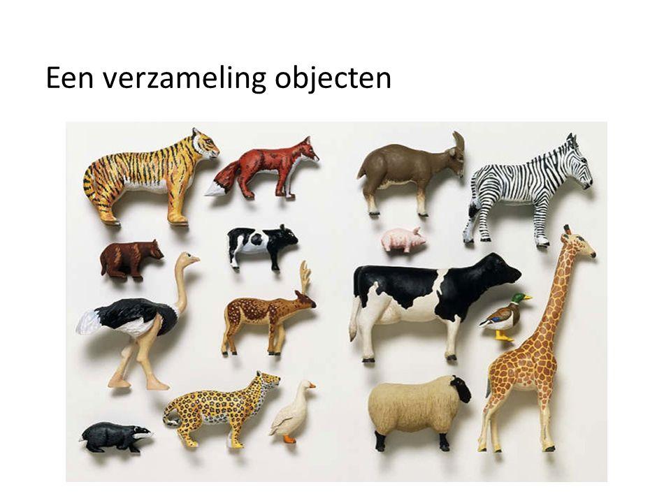 Een verzameling objecten