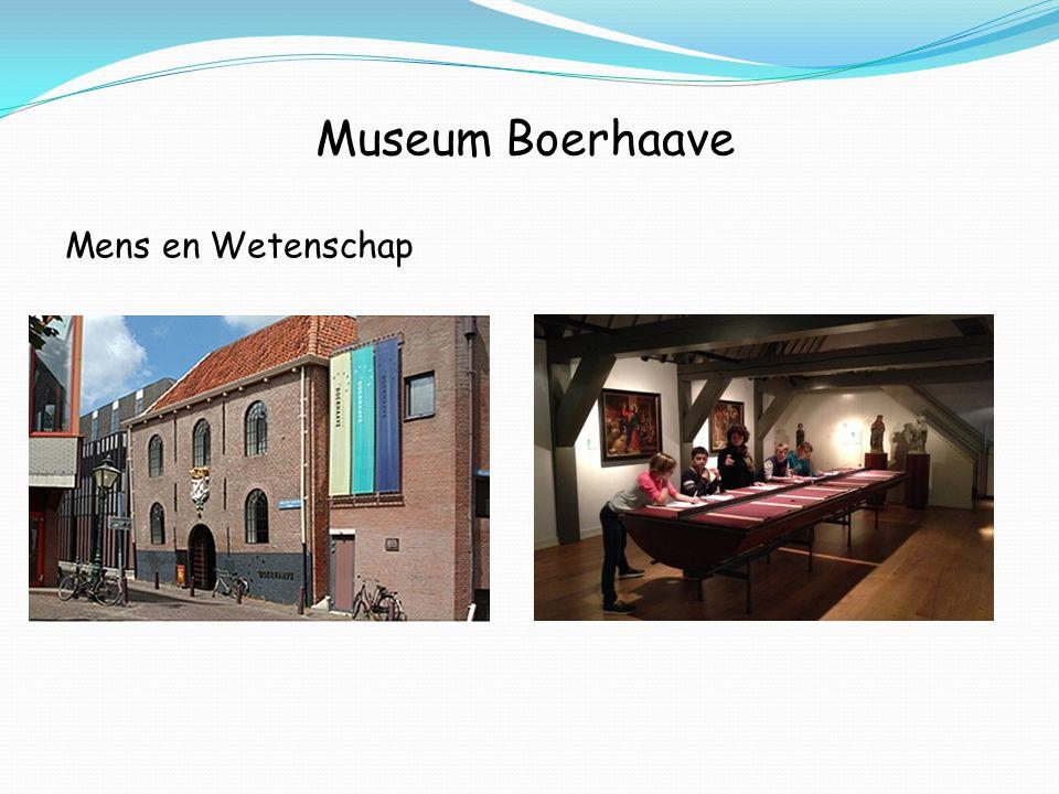 Museum Boerhaave Mens en Wetenschap