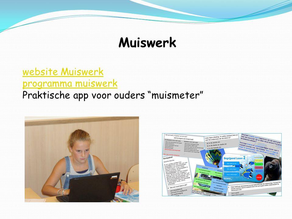 Muiswerk website Muiswerk programma muiswerk Praktische app voor ouders muismeter