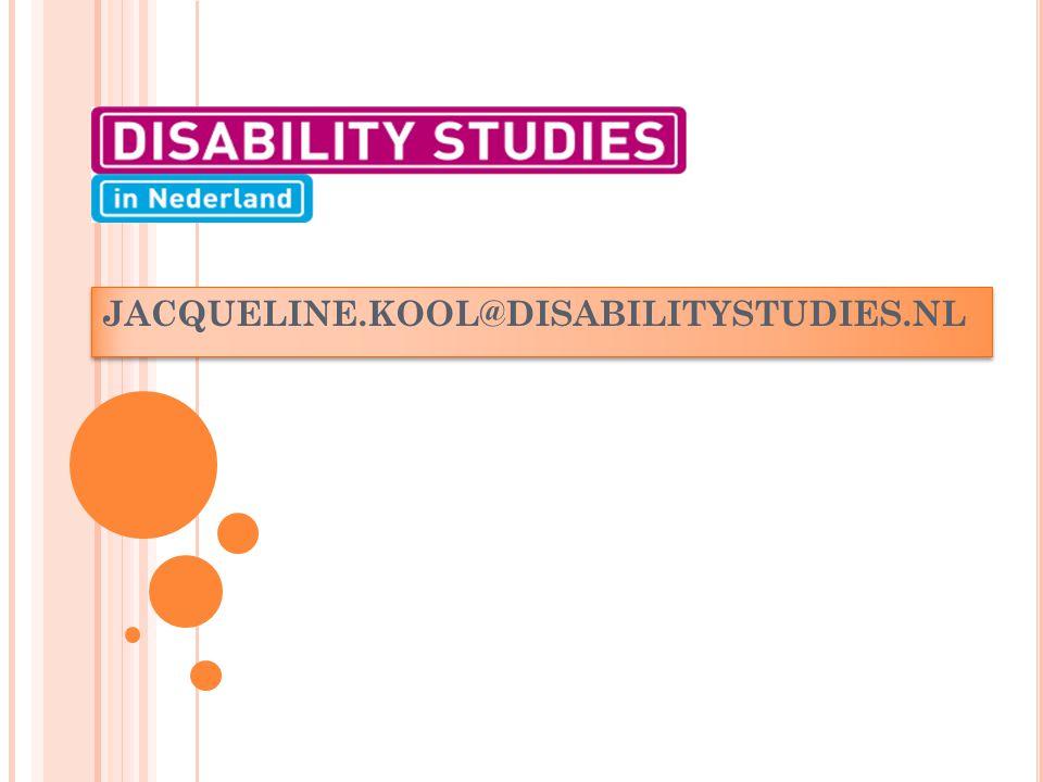 JACQUELINE.KOOL@DISABILITYSTUDIES.NL