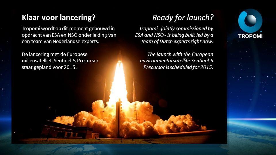 Klaar voor lancering? Tropomi wordt op dit moment gebouwd in opdracht van ESA en NSO onder leiding van een team van Nederlandse experts. De lancering