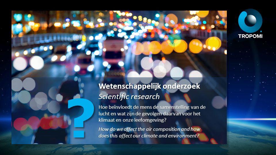 Wetenschappelijk onderzoek Scientific research Hoe beïnvloedt de mens de samenstelling van de lucht en wat zijn de gevolgen daarvan voor het klimaat e