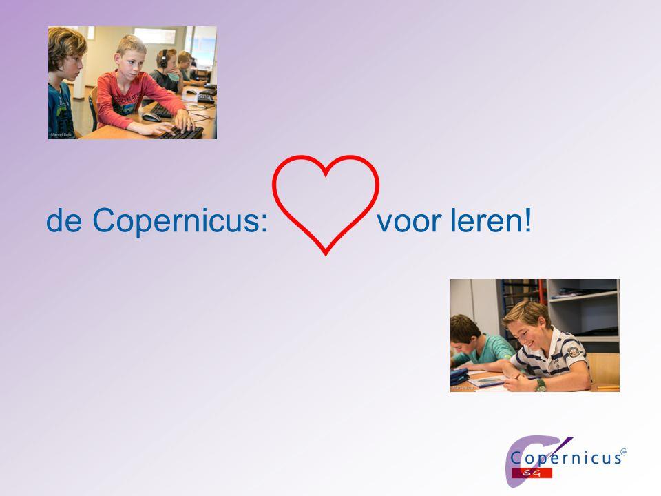 de Copernicus: voor leren!