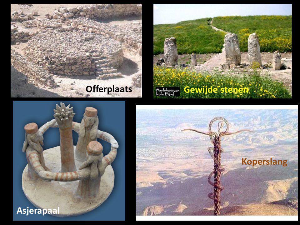 Offerplaats Gewijde stenen Asjerapaal Koperslang