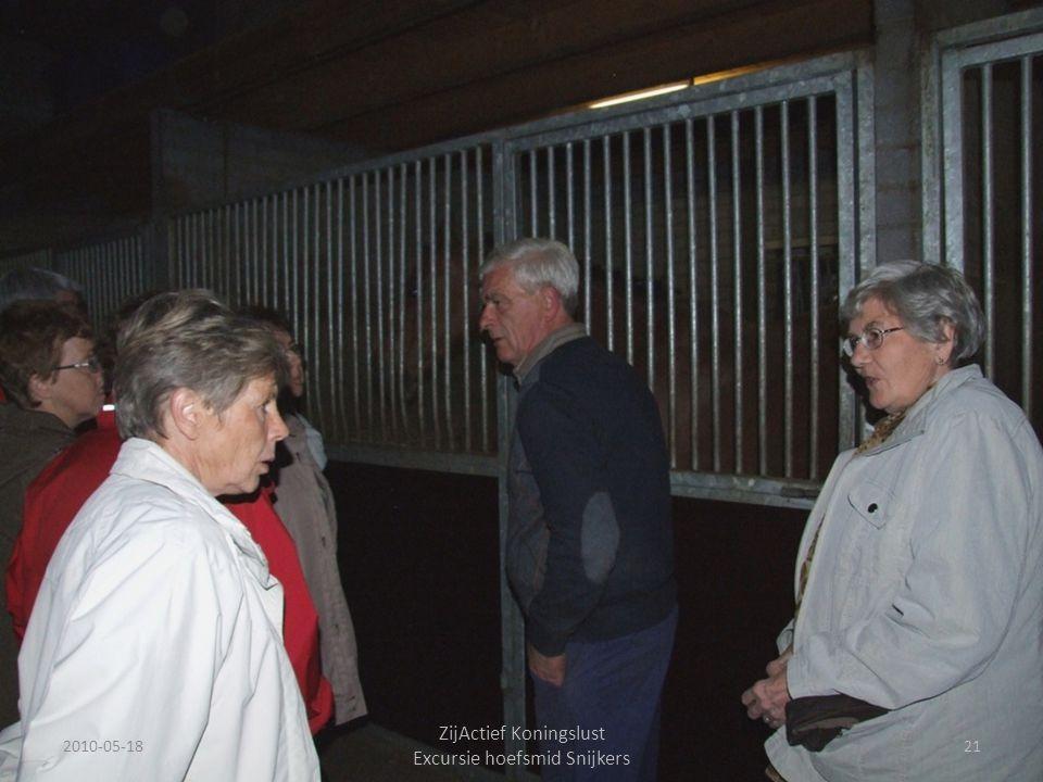2010-05-1821 ZijActief Koningslust Excursie hoefsmid Snijkers