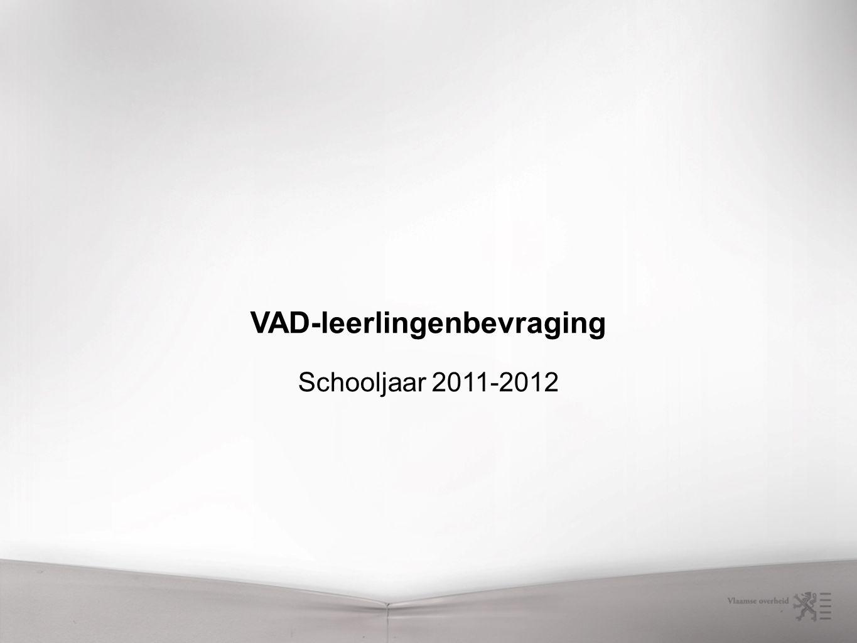 VAD-leerlingenbevraging Schooljaar 2011-2012