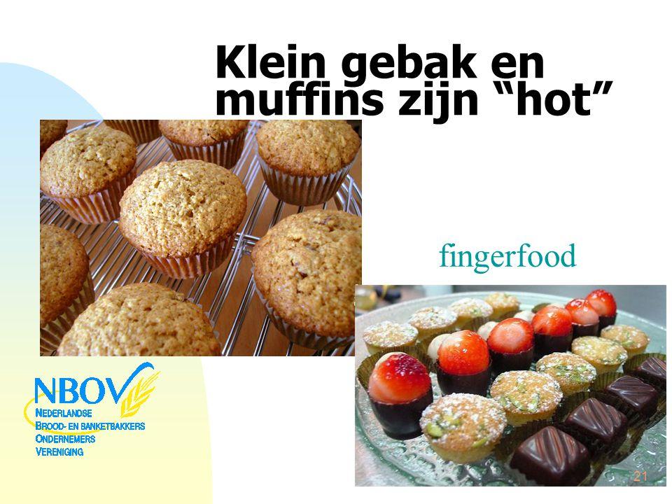 """Klein gebak en muffins zijn """"hot"""" fingerfood 21"""