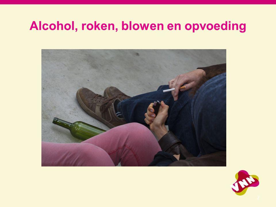 Alcohol, roken, blowen en opvoeding 2