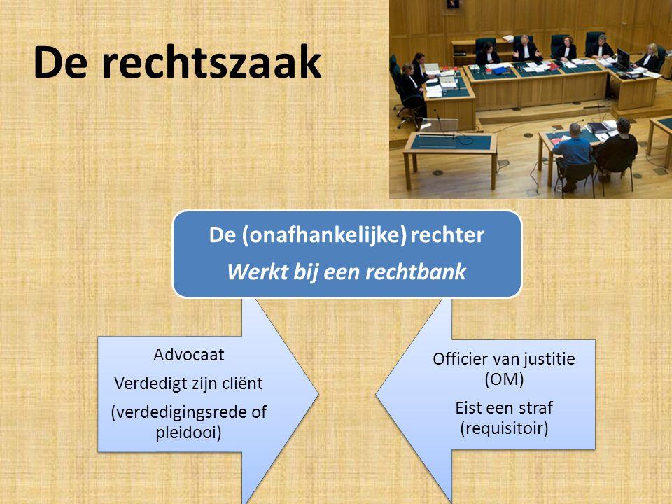 Soorten rechtbanken Hoge raad (bij cassatie)Gerechtshof (bij hoger beroep) De rechtbank (bestaat uit kantonrechter en strafrechter) Kantonrechter (bij overtredingen) Strafrechter (bij misdrijven)
