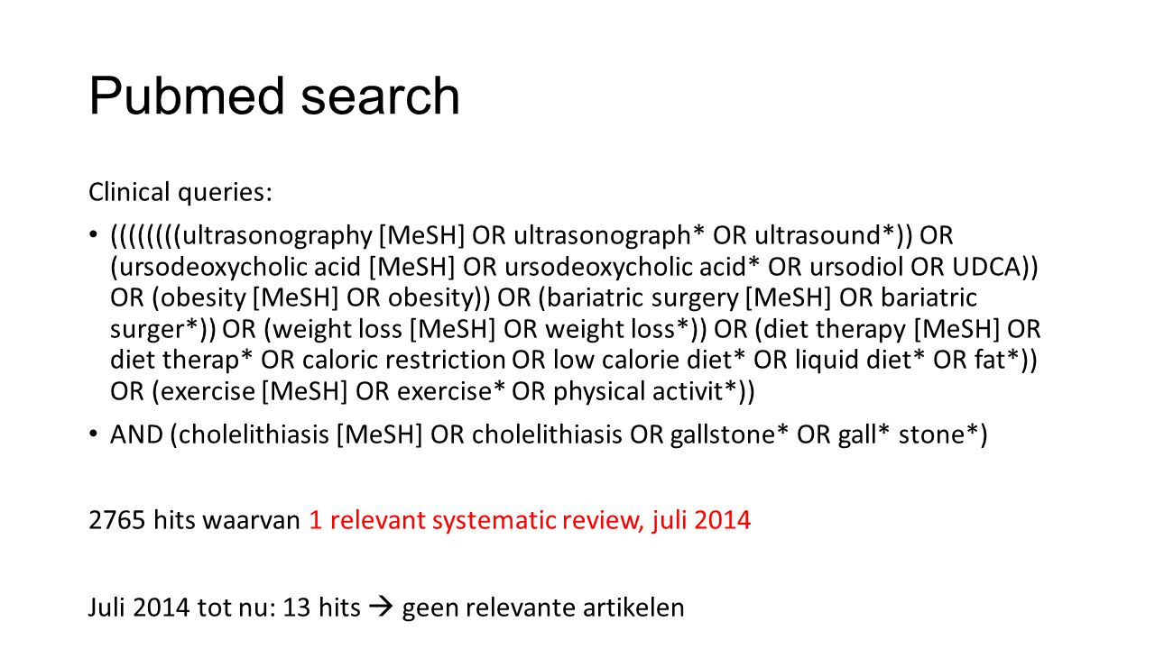 Pubmed search Clinical queries: ((((((((ultrasonography [MeSH] OR ultrasonograph* OR ultrasound*)) OR (ursodeoxycholic acid [MeSH] OR ursodeoxycholic