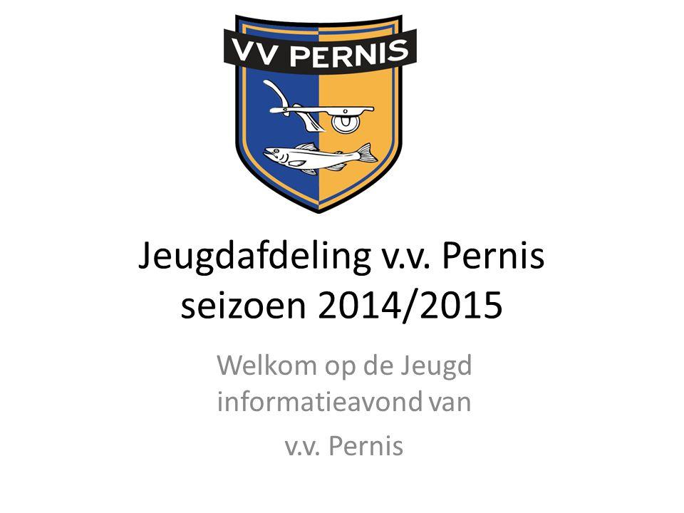 Jeugdafdeling v.v. Pernis seizoen 2014/2015 Welkom op de Jeugd informatieavond van v.v. Pernis