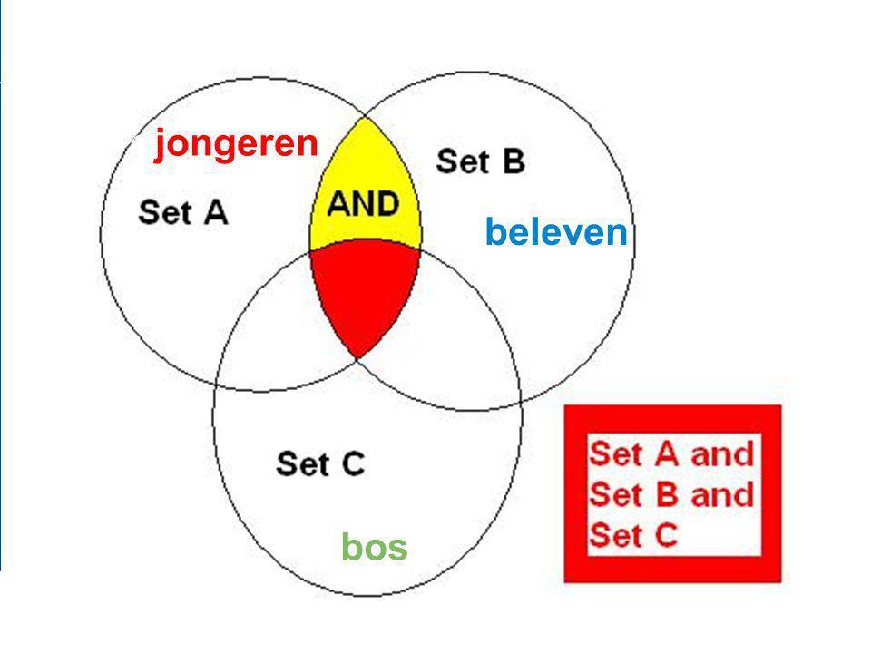 Zoekstrategie  Verdeel je onderwerp in concepten 2.