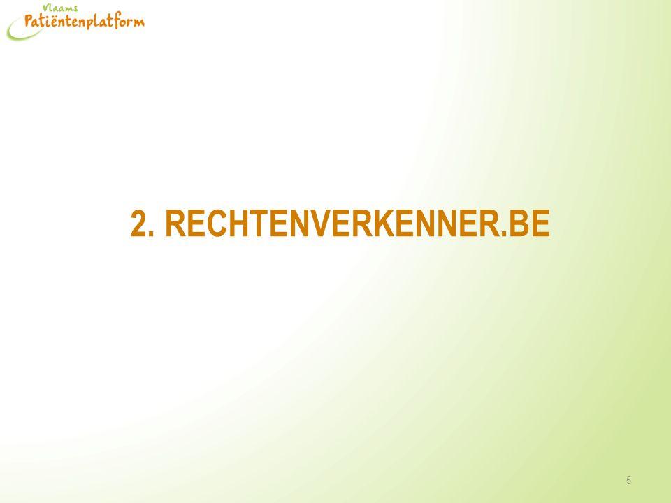 2. RECHTENVERKENNER.BE 5