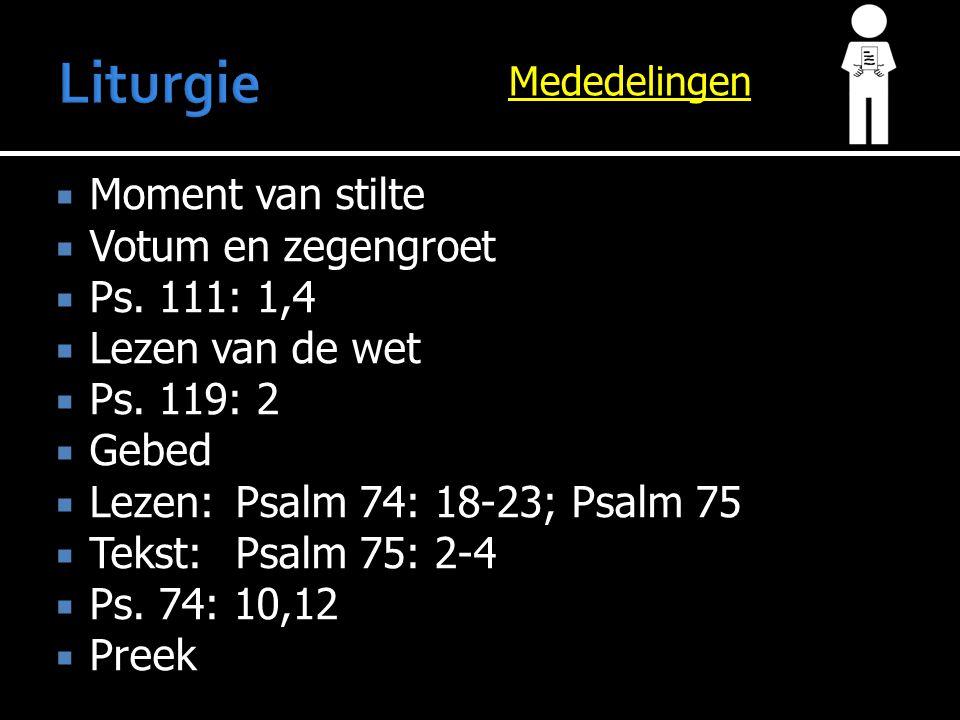  Vandaag  1 e Kerk  2 e Rente en aflossing  Volgende week  1 e Vereniging Samenwerking Emeritering  2 e Rente en aflossing  Gz.