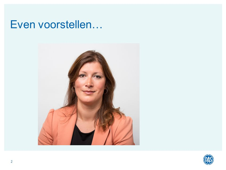 2 Even voorstellen…