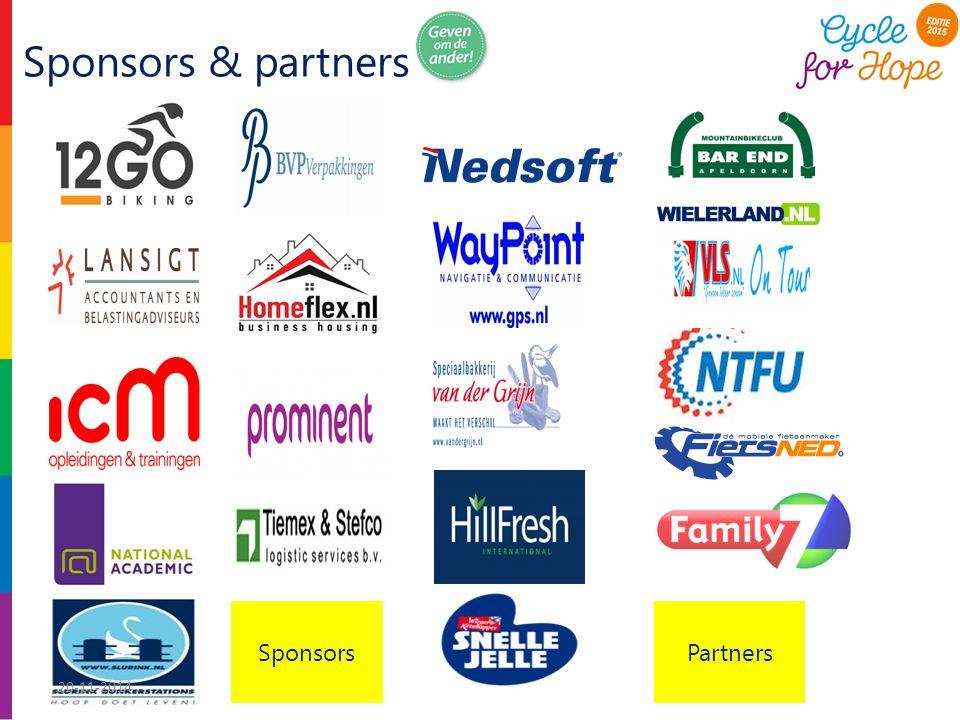 Sponsors & partners Sponsors Partners 20-11-2014