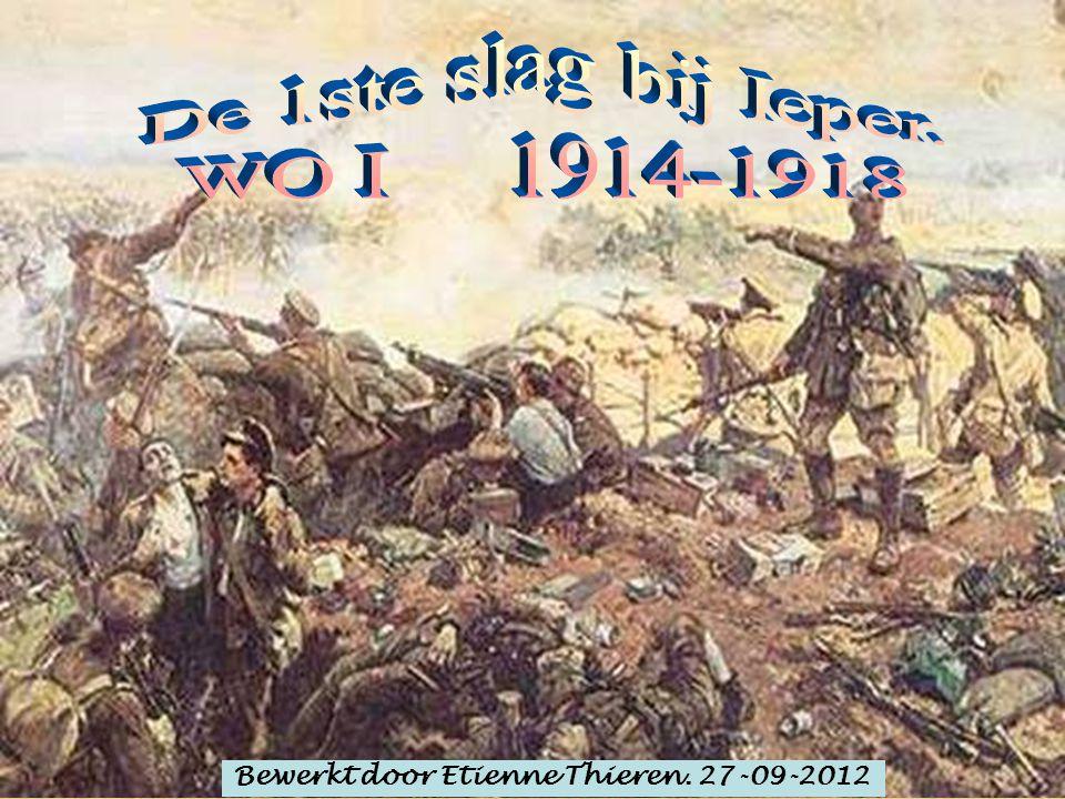 In de nacht van de 31 ste kwam een aanval van de Fransen tegen het kasteel van Hollebeke.