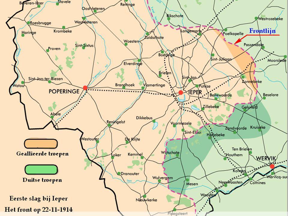 Die slag om Ieper kostte de vijand meer dan honderd vijftig duizend mensen. Wat overbleef van België werd gered. Duinkerke en Calais zagen de bedreigi