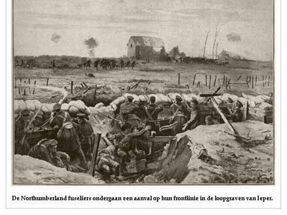 Op het slagveld veroorzaken de gebeurtenissen grote twijfels.
