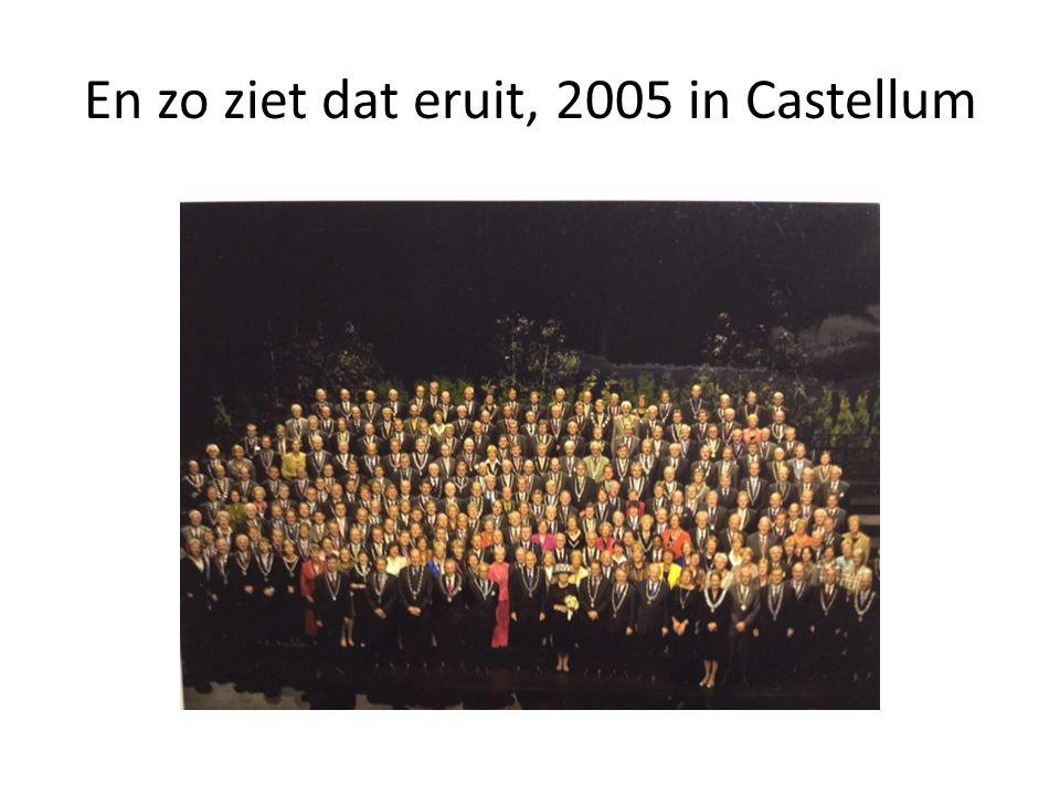 En zo ziet dat eruit, 2005 in Castellum