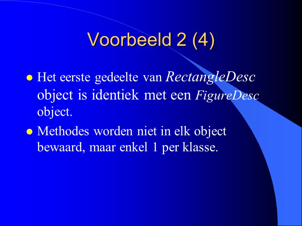 Voorbeeld 2 (3) VAR figure: Figure; rectangle: Rectangle;...