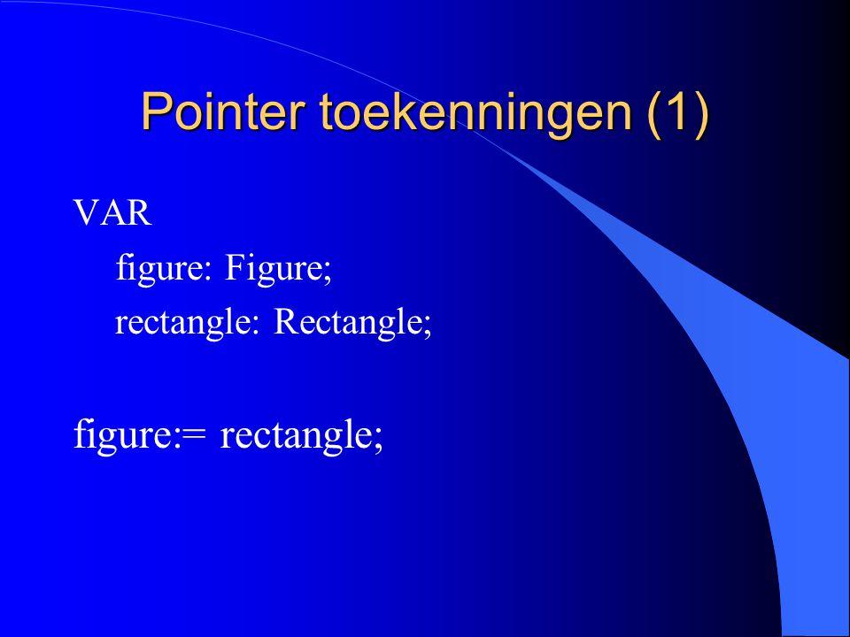 Record toekenningen (4) l Een object doorgeven als een waarde parameter is ook een toekenning.