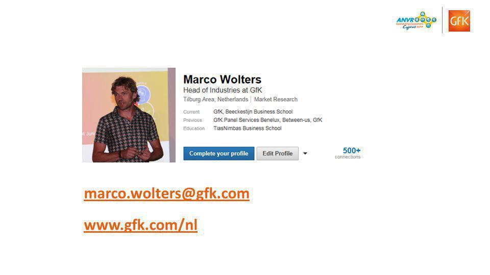 13© GfK 2014 | Presentatie ANVR congres 2014 | 14 November 2014 Online bereik naar geslacht (%) Internet is measured (MEP) on individual traveler level.
