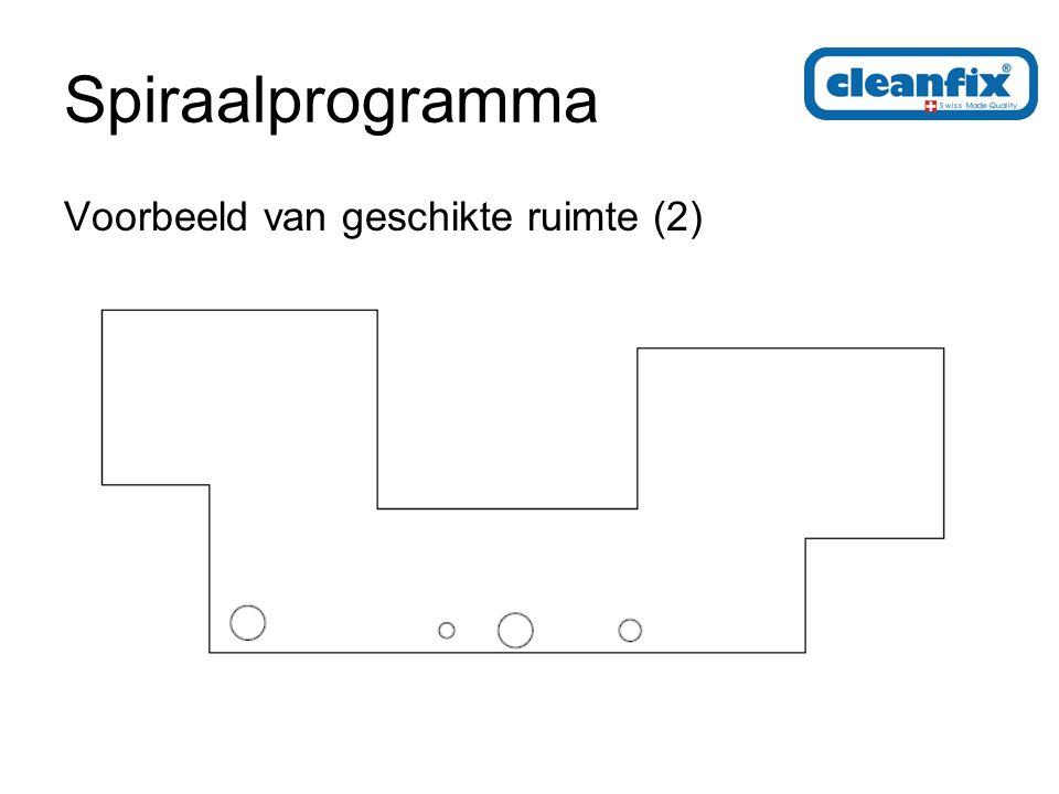 Spiraalprogramma Voorbeeld van geschikte ruimte (2)