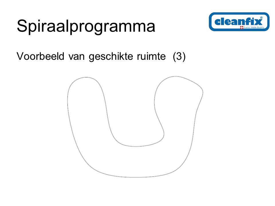 Spiraalprogramma Mogelijke routes in een ruimte met vertakkingen (1)