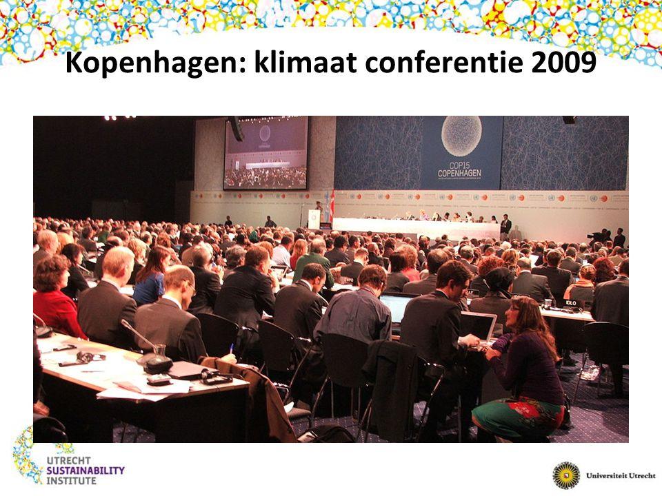 Kopenhagen: klimaat conferentie 2009