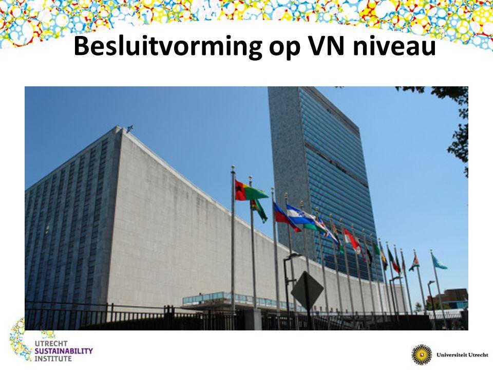 Besluitvorming op VN niveau
