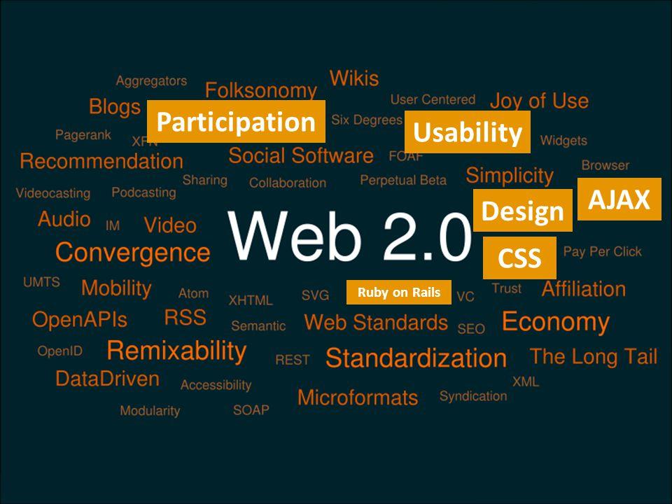 CSS Participation AJAX Usability Design Ruby on Rails
