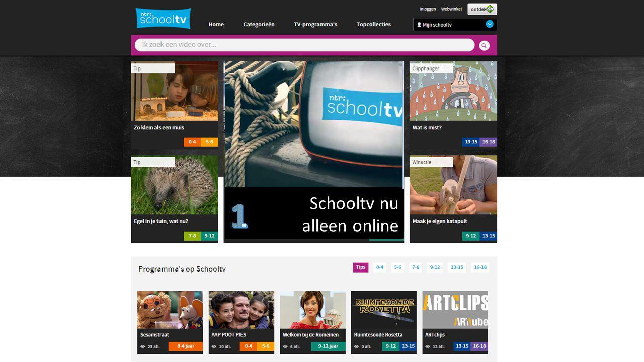 Schooltv nu alleen online