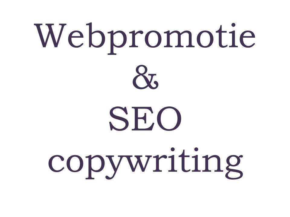 Webpromotie & SEO copywriting