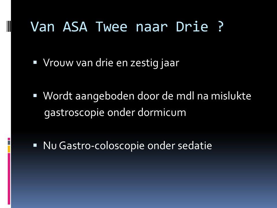 Van Asa twee naar Drie . Anamnese:  basaalcel ca.