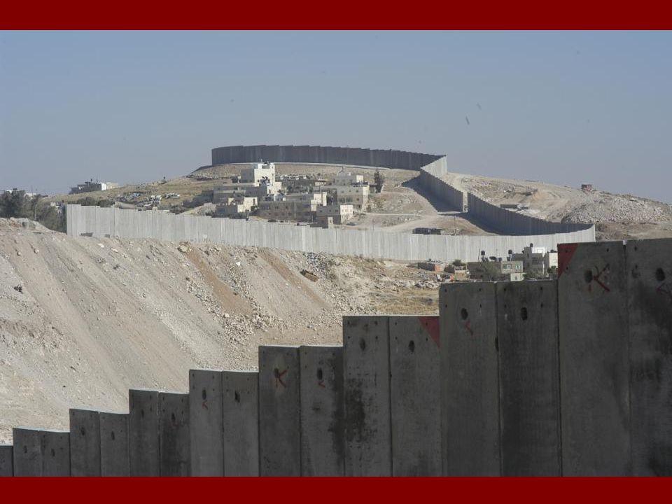 Wat is de Muur. Welke impact heeft deze op het leven van de Palestijnse bevolking.