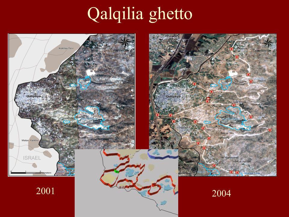 Dit proces (nvdr: bantoestanisering) is al in 1991 begonnen, lang vóór de Palestijnse zelfmoordaanslagen begonnen.