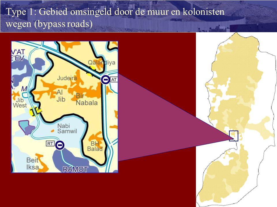 97steden, dorpen en wijken in de Westbank zullen worden omgevormd tot ghettos: Ghetto vorming 2.